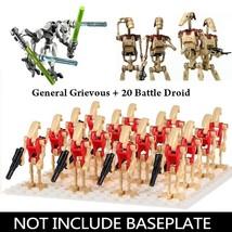 21pcs/set Battle Droid & General Grievous - Star Wars The Clone Wars Minifigures - $13.98