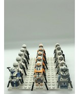 18pcs Star Wars Captain Rex Cody Utapau Wolf Pack Clone Trooper Minifigu... - $29.99
