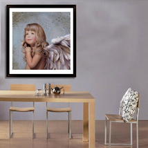 37*30cm DIY Diamond Embroidery Angel Girl 5D Diamond Painting Craft Kit ... - $20.00