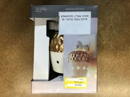 Plug-In Fragrance Warmer Ivory/Gold - Home Scents By Chesapeake Bay Candle - $10.00