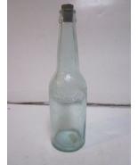 ANTIQUE JACOB RUPPERT BREWER LIGHT BLUE BEER BOTTLE - $12.99