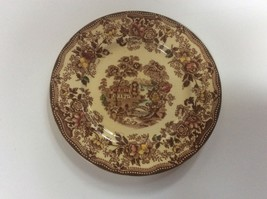 "Alfred Meakin Brown Multicolor Tonquin Bread & Butter Plate s 6 3/8"" - $12.86"