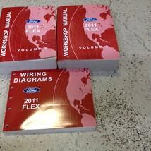 2011 Ford FLEX Service Shop Repair Workshop Manual Set FACTORY W Wiring ... - $98.95