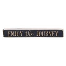 "Enjoy the Journey Engraved Sign 12"" - $25.96"