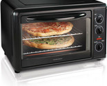 Portable Counter Top Oven Convection Rotisserie Casseroles Cooker Auto Shut Off