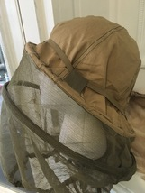 Vintage ARMEE Mosquito Hat Netting Veil Camping Beekeeper Army Field Gea... - $60.00
