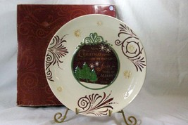 Grasslands Road Holiday Style Dinner Plate - $20.78