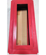Fire Extinguisher Cabinet W/Glass Alarm Red Nystrom Fire Safety Equipment - $75.99