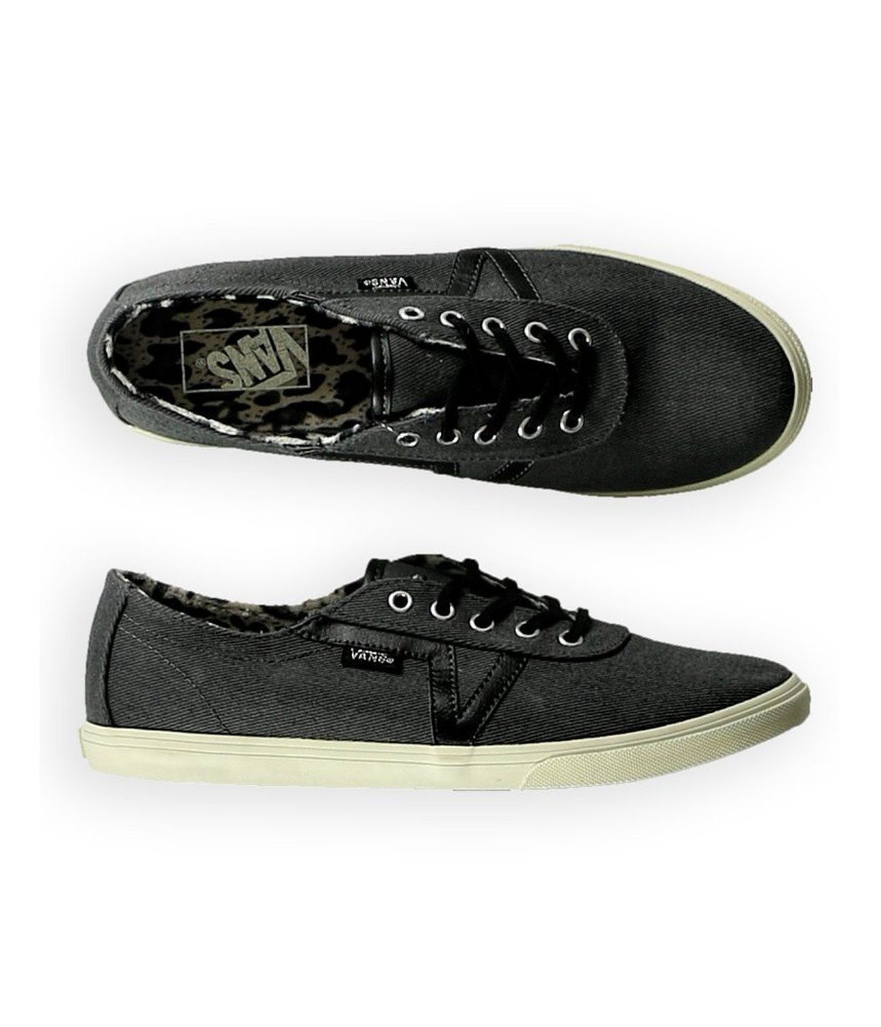 S l1600. S l1600. NEW VANS AUTHENTIC DIXIE TWILL BLACK TIGER SHOES WOMENS 5  SK8 NIB YOUTH 3.5 2ff719557