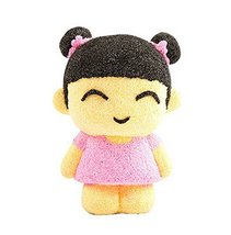 Beads mud clay dolls for Kids or Baby DIY Colorful Toy(Happy Girl) image 2