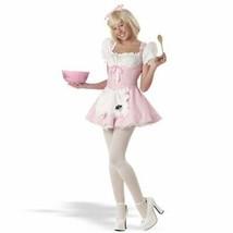 LITTLE MISS MUFFET GIRLS HALLOWEEN COSTUME TWEEN SIZE MEDIUM 04007 - $25.13