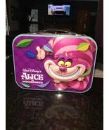 New! Disney Alice wonderland Cheshire metal Lunch Box  - $14.99
