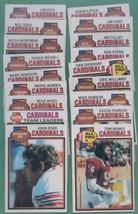 1979 Topps St Louis Cardinals Football Set - $4.99