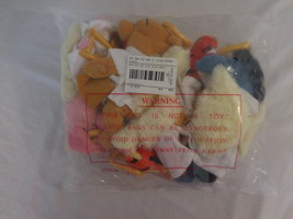 Disney Winnie the Pooh Choir Angel Mini Bean Bag Set Complete New - $47.02