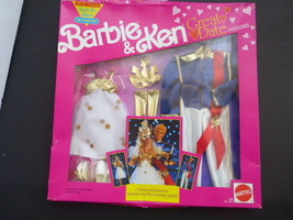 Barbie & Ken Doll Prince & Princess Costume Party Fashions, Mattel 1991 - $19.78