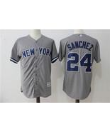 New York Yankees Baseball jersey Sanchez # 24 MLB Cool Base Player sale - $49.90