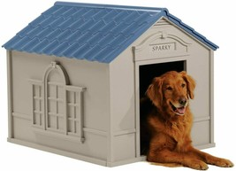 XXL Dog Kennel For X-Large Dogs Outdoor Pet Cabin Insulated House Big Sh... - $89.87
