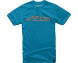 Alpinestars Men's Blaze Classic Tee T-shirt, Grey (charcoal/hi Vis Yellow),