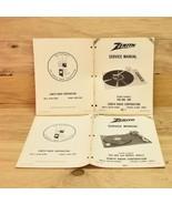 5 Zenith Service Manuals Record Changers Models B9022 169-407 C9024 169-... - $11.87