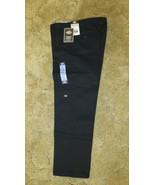 "Dickies Boys Black Pants School Uniform Sz14H Husky Flex Casual Fit 31"" ... - $14.80"