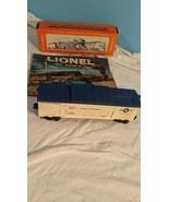 LIONEL No. 3665 MINUTEMAN MISSILE LAUNCHING CAR, plus LIONEL CATALOGUE a... - $143.55