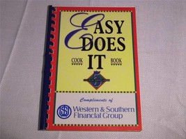1994 Western Southern Life Insurance advertising Easy Does It COOK BOOK ... - $16.99