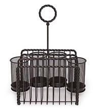 Mikasa Wire Rope Picnic Table Caddy Napkin Hold... - $36.17