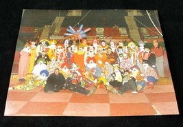 Set of 2 Vintage Real Photograph of Clown Circus Performers Michigan 8x1... - $6.94