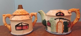 Vintage House Made in Occupied Japan Sugar Bowl and Tea pot W/Lid - $26.73