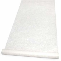 Hortense B. Hewitt Wedding Accessories Fabric Aisle Runner, Ivory Floral... - $43.07