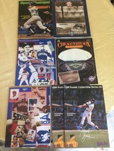 BASEBALL COLLECTIBLE PROGRAMS/YEARBOOKS, SPORTS ILLUSTRATED, & ADVERTISI... - $23.20