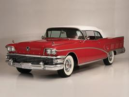 1958 Buick limited convertible 1958 24 X 36 Inch Poster  - $18.99
