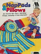 "Annie's Attic ""NapPads & Pillows"" 6 Designs For Little Ones - Gently Used - $7.00"