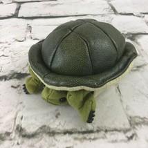 Folkmanis Mini Turtle Plush Finger Puppet Cute Natural Realistic Preschool Play  - $14.84