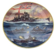Bradford Exchange Davenport Battle of North Cape Action Stations series by Simon - $44.59