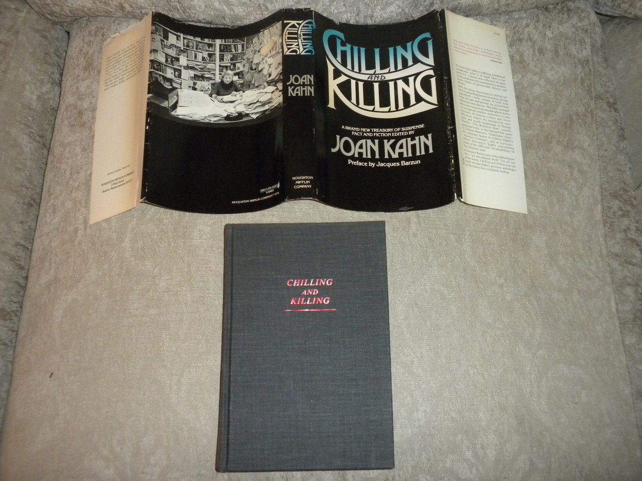 Primary image for Chilling and Killing edited by Joan Kahn 1st 1978 HCwDJ 21 suspense stories