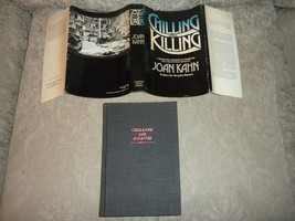 Chilling and Killing edited by Joan Kahn 1st 1978 HCwDJ 21 suspense stories - $19.99
