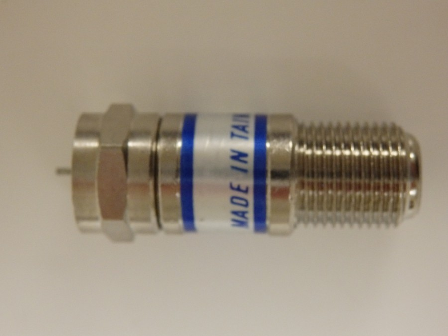 NEW Coax Attenuator, 10 pieces 12dB with F fittings