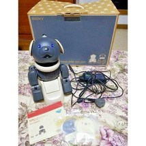 SONY AIBO ERS-312 Macaroon  W/Refreshed Battery Excellent From Japan F/S - $780.12