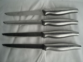 4 X MSE Stainless Saw Serrated Blade Knife - $28.79