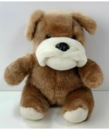"It's all Greek to Me Small Bulldog Brown Puppy Dog Plush Stuffed Animal 10"" - $11.53"