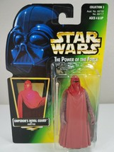 Star Wars Power Of The Force - Emperor's Royal Guard (Green Card) - Kenner 1997 - $8.00