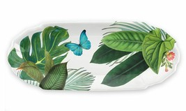"""Amazon Floral 13.8"""" Serve Bowl and 18.4"""" Appetizer Tray by TarHong - $57.37"""