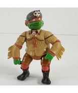 1992 Raphael Wear Racoon Hat Ninja Turtles TMNT Vintage Figure (cq) - $11.88
