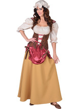 Deluxe Medieval Tavern Wench Costume  sizes 6-22 - $65.48