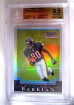 Lee Evans RC 2004 Topps Drafts Picks & Prospects Chrome GEM MINT Graded BGS 9.5 image 4
