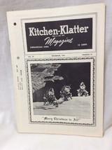 Vintage Kitchen Klatter Magazine local Recipes Shenandoah Iowa December ... - $9.99