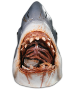 Trick or Treat Jaws Bruce the Shark Week Scary Killer Halloween Mask MRU... - £55.55 GBP