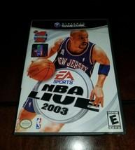 NBA Live 2003 Nintendo GameCube EX **Inv02952** - $7.91