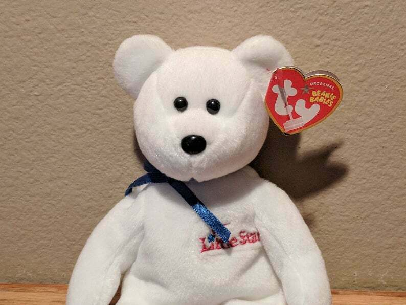 Vintage Ty Beanie Baby LITTLE STAR Collectible Plush Mnt image 2
